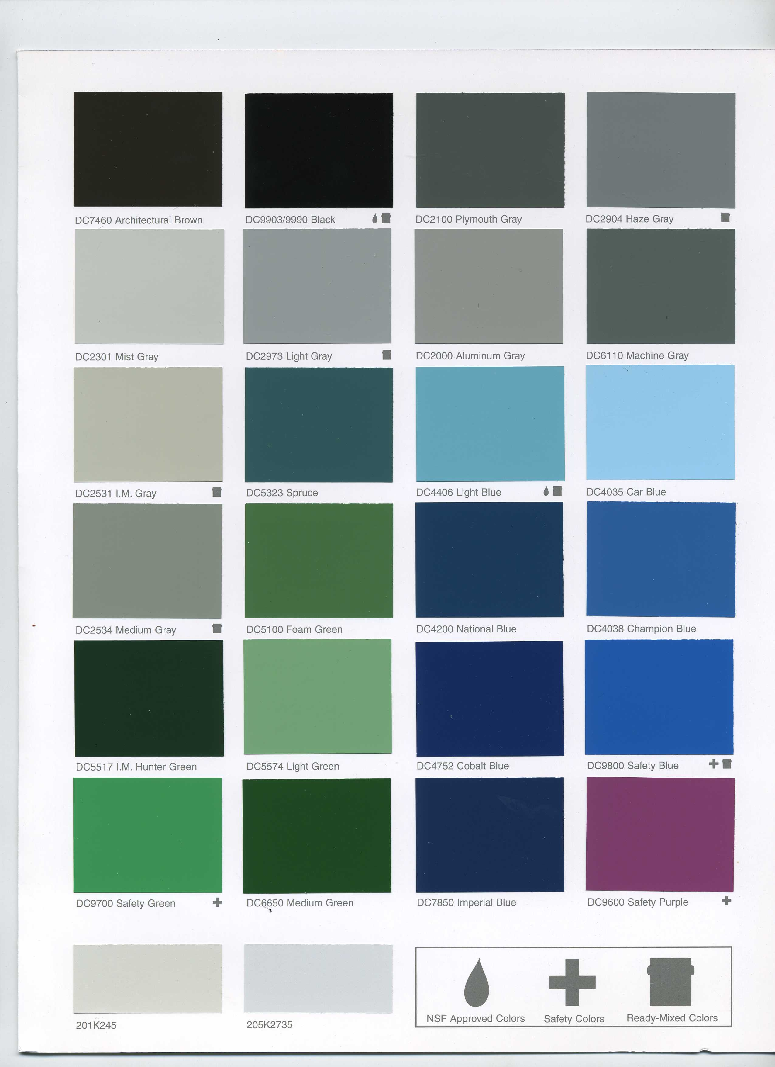 Dupont Imron Color Chart Pictures To Pin On Pinterest Pinsdaddy